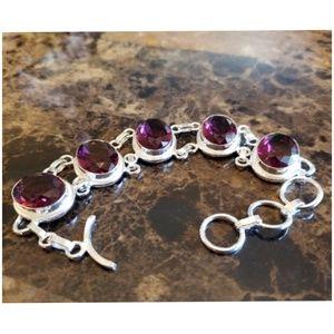 """Jewelry - Beautiful African Amethyst Bracelet 8"""""""